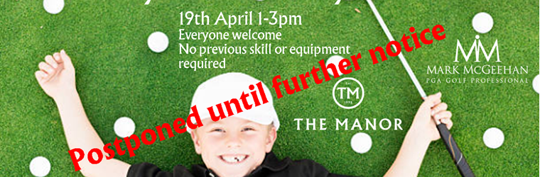 Banner for POSTPONED - Family Fun Golf Day